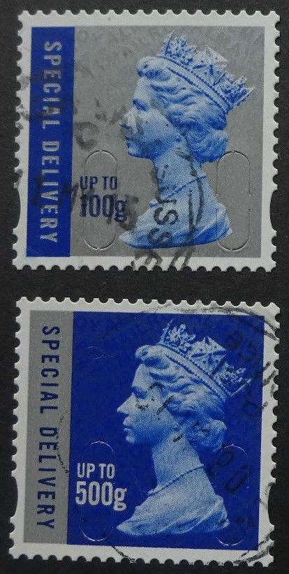 2010 GB - SGU3051-2-10 SPECIAL DEL x 2 Different on Card VFU